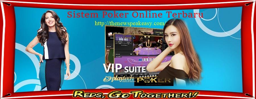 Sistem Poker Online Terbaru